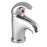Just Taps N108 Novo Chrome Mini Single Lever Basin Mixer Front View