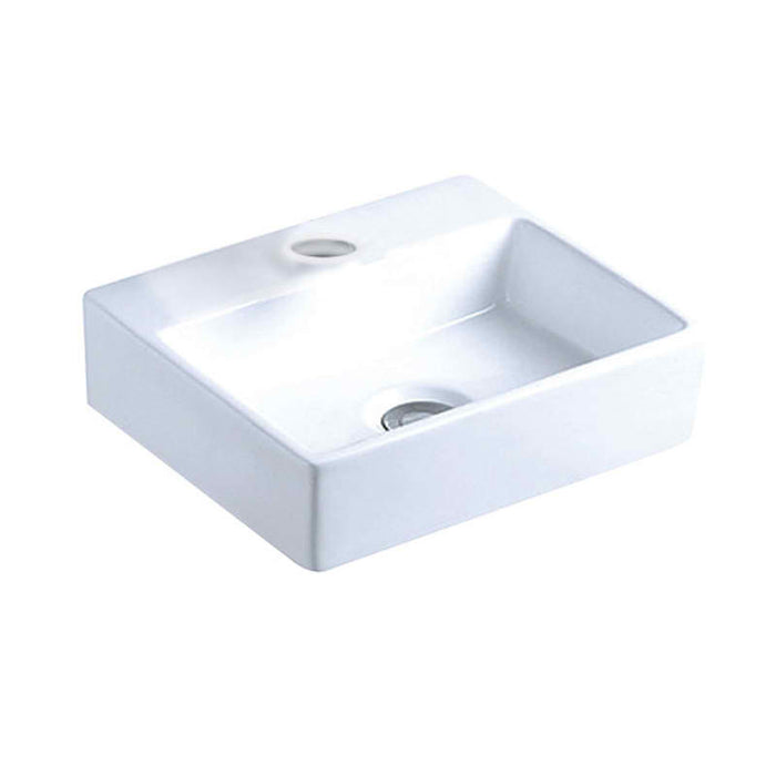 Just Taps CB102 Cloakroom Basin Front View