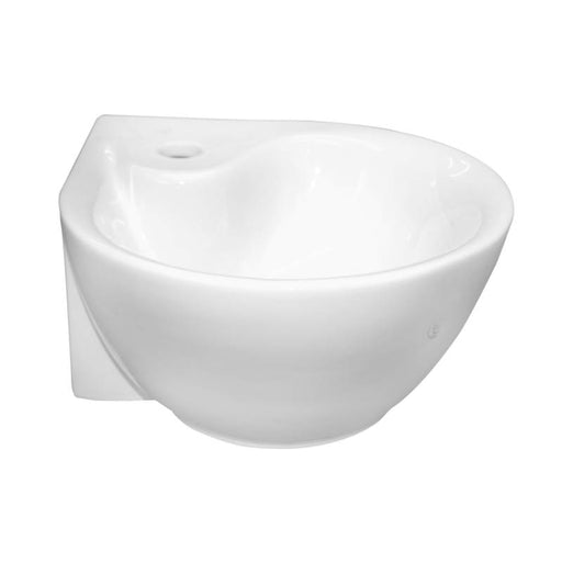 Just Taps CB105 Cloakroom Basin Front View