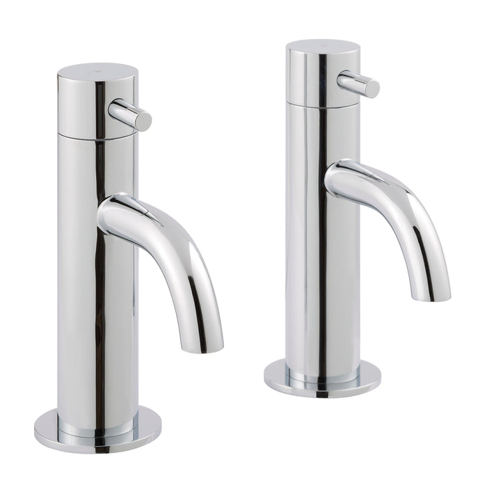 Just Taps 55011 Florence Chrome Basin Tap Front View