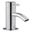 Just Taps 55025 Florentine Chrome Small Basin Mixer Front View