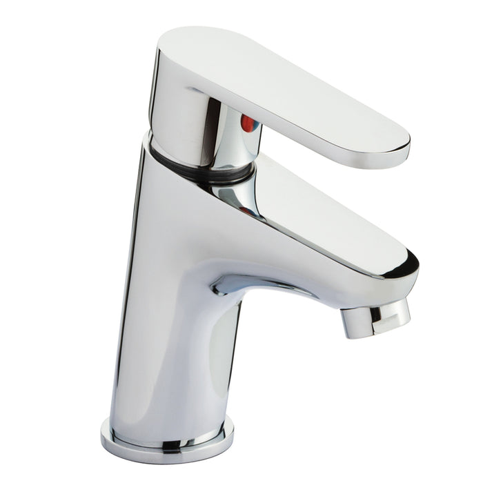 Just Taps 78001 Icon Chrome Single Lever Basin Mixer Front View