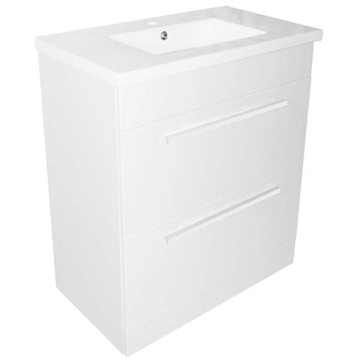 Pace 800 Standing unit with two drawers and basin front view