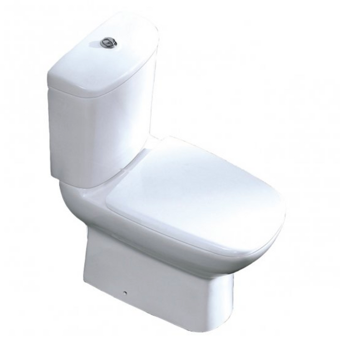 Just Taps SIM001 Simplicity Toilet & Cistern Front View