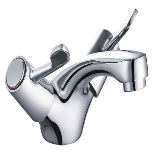 mayfair  AL063 Alpha Chrome Basin Mixer Front View