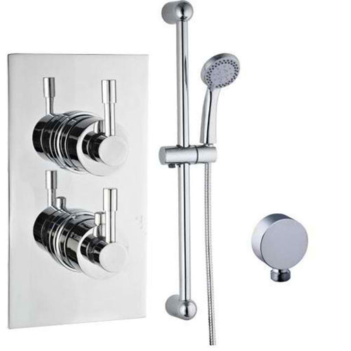 Mayfair AMA300 Amazon Chrome Thermostatic Valve and Arm Front View