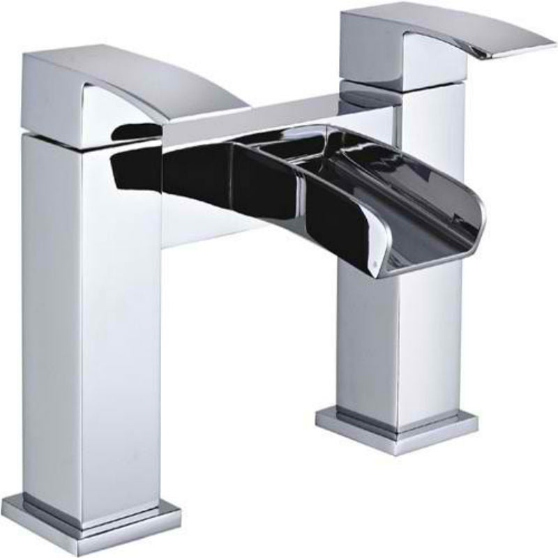 Mayfair HLN005 Harlyn CHrome Bath FIller Tap Front View