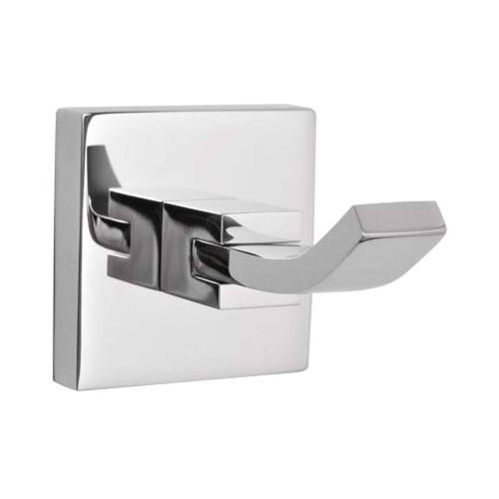 Mayfair ICE408 Ice Chrome Robe Hook Front View