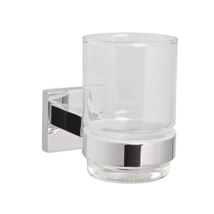 Mayfair ICE406 Ice Chrome Tumbler Holder Front View