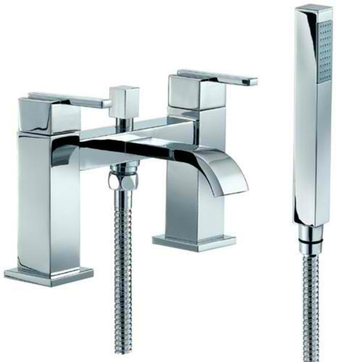 Mayfair IFL007 Ice Fall Chrome Bath Shower Mixer Front View