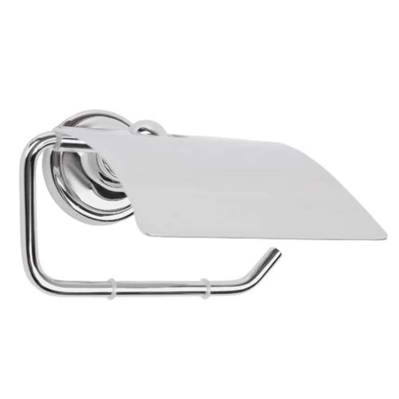 Mayfair MAT409 Matrix Chrome Tissue holder Front View