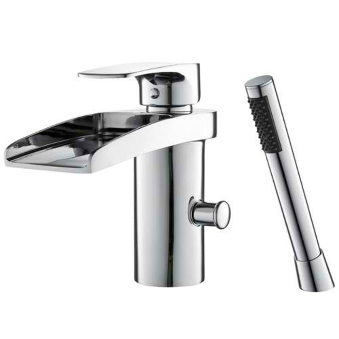 Mayfair OHI050 Ohio Chrome Bath Shower Mixer Front View