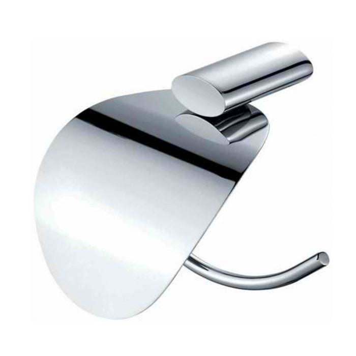 Mayfair OVA409 Oval Chrome Tissue Holder Front View