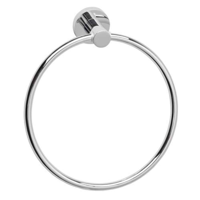 Mayfair PHA404 Phaze Chrome Towel Ring Front View
