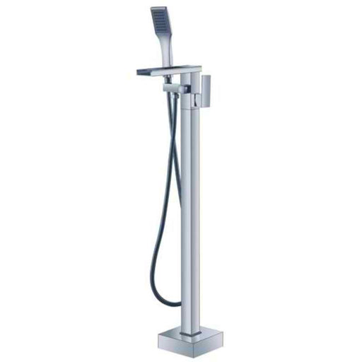 Mayfair RIO073 Rio Chrome Floorstanding Bath Shower Mixer Front View