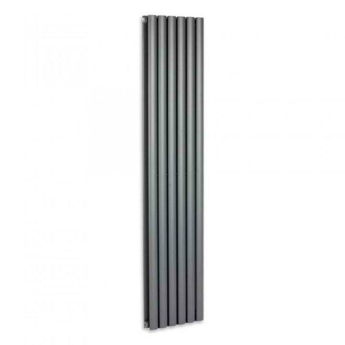 Mayfair SAH6/1800DA Sahara Anthracite Vertical Radiator Front View