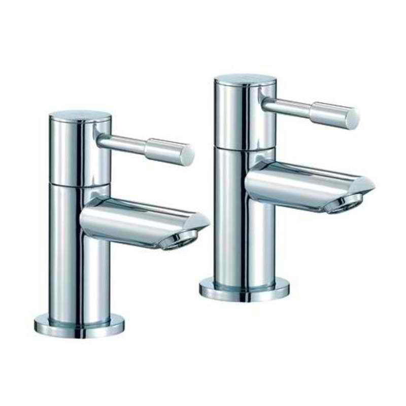 Mayfair SFL003 Series F Chrome bath Taps Front View