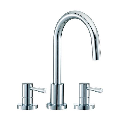 Mayfair SFL049 Series F 3 Hole Lever Basin Tap Front View