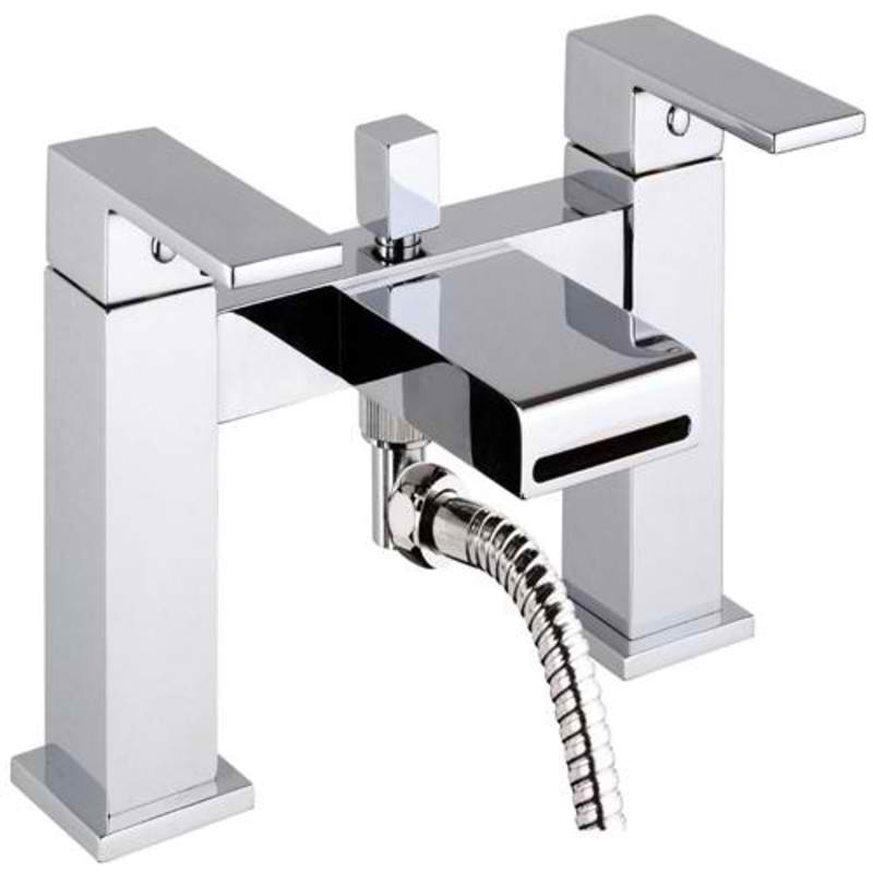Mayfair SWL007 Swell Chrome Bath Shower Mixer Tap Front View