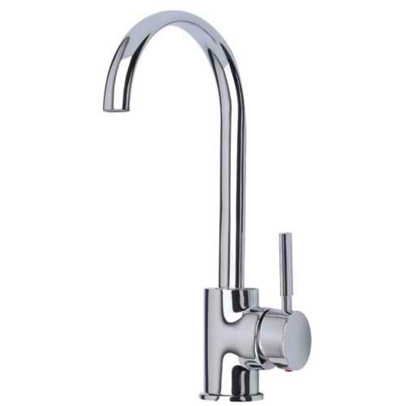 Mayfair KIT183 Tidal Chrome Kitchen Mixer Tap Front View
