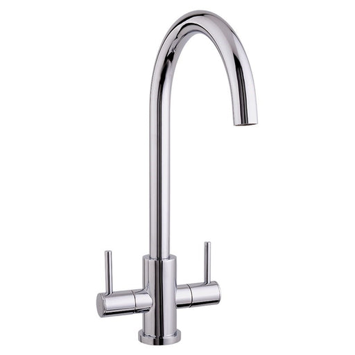 Mayfair Vibe Chrome Mono Kitchen Tap Front View