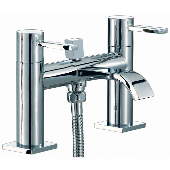 Front View of Mayfair RDL007 Wave Bath Shower MIxer