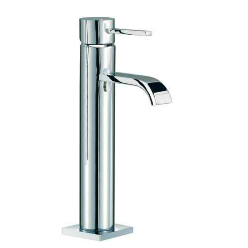 Mayfair RDL029 Wave Chrome Freestanding Basin Mixer Tap Front View