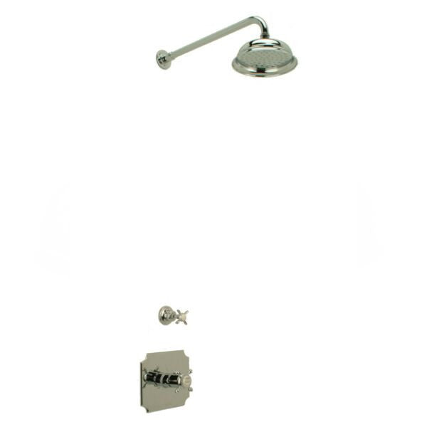Hollys of Bath Chrome Concealed Thermostatic Shower Set CS1-8
