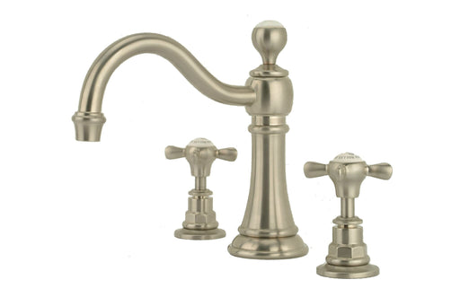 Hollys of Bath Country Spout Three Hole Basin Mixer - Bathroom Tap 2150
