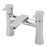 Tre Mercati 24040 Chrome Balena Pillar Bath Filler Full View
