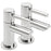 Tre Mercati Chrome 44020 Poppy Pair of Bath Taps Full View
