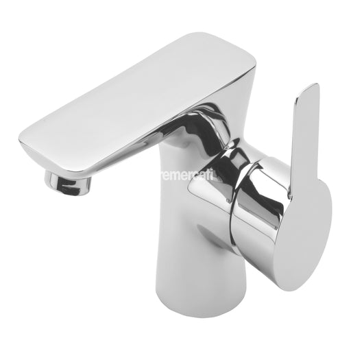 Tre Mercati 24075 Balena Chrome Mono Basin Mixer with Click Clack Waste Full View