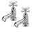 Tremercati Chrome 1402 Charleston Pair of Bath Taps Full View