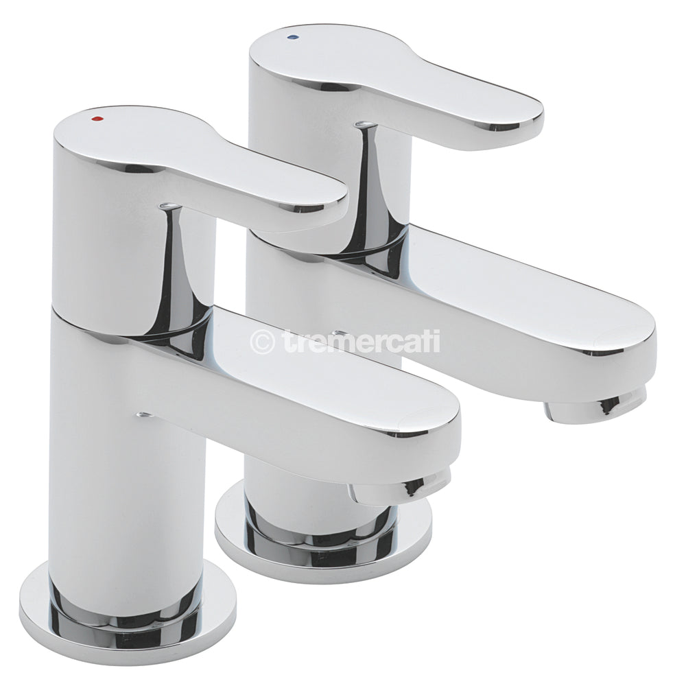 Tre Mercati Lollipop Pair of Basin Taps 1210 – Taps Direct