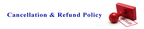 Cancellation & Refund Policy - Gifts Online