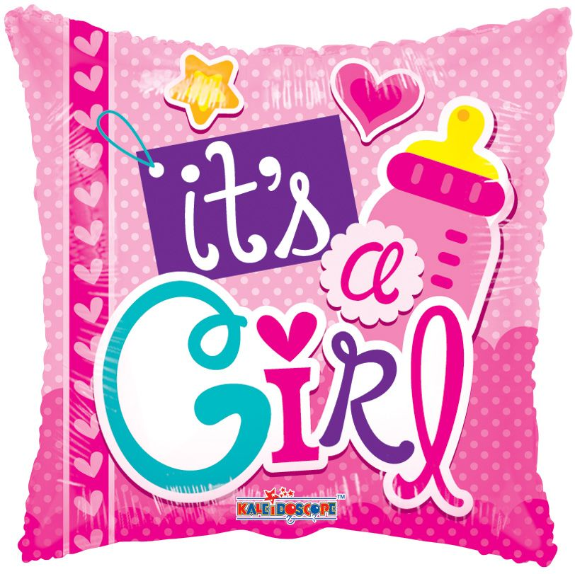 It's A Girl Balloon - gift-on-line