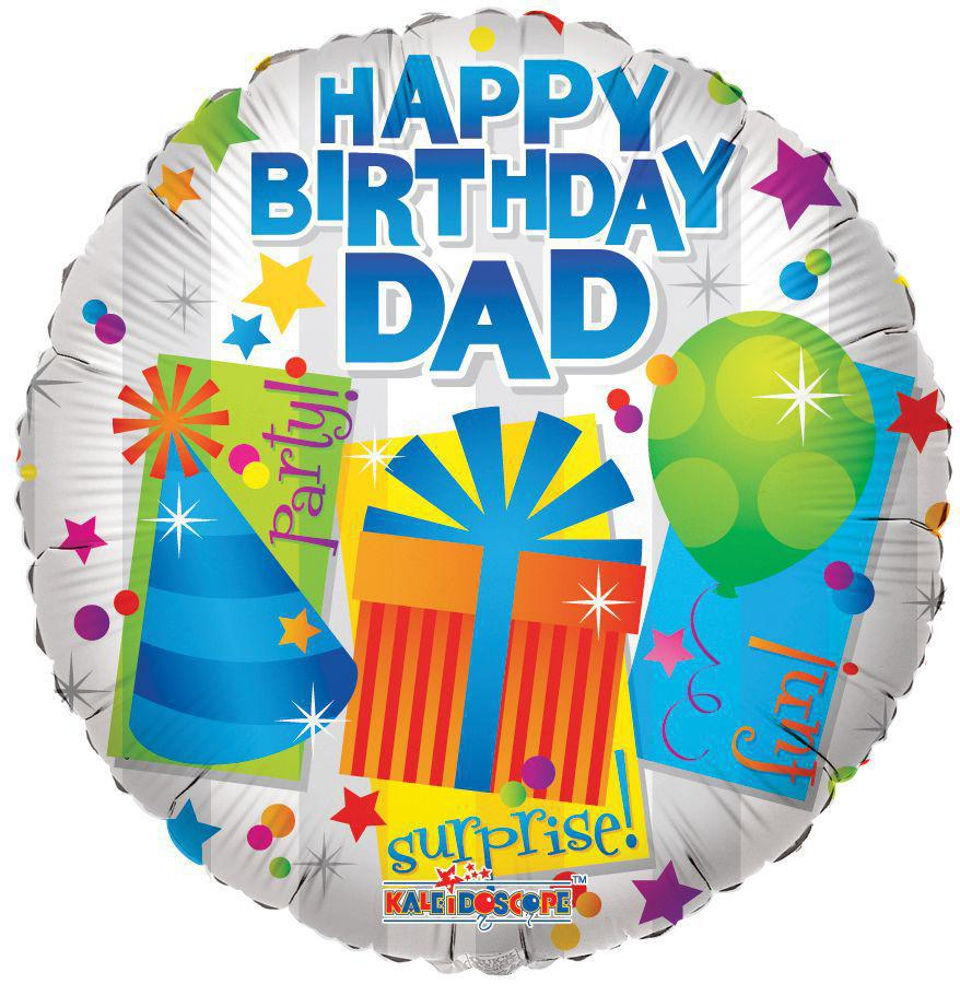 Happy birthday Dad Balloon - gift-on-line