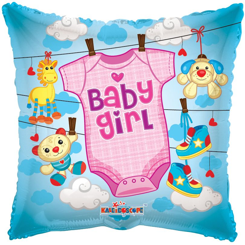 Baby Girl Balloon - gift-on-line