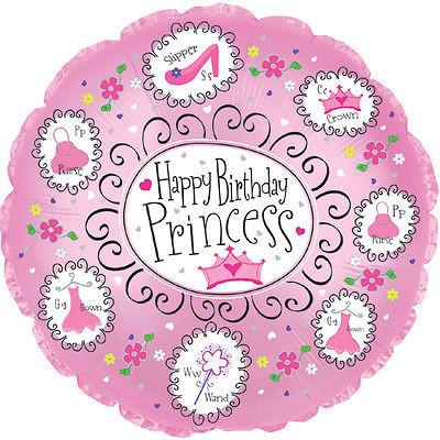 Happy Birthday Princess Balloonssend_delivery_Amman_Jordan