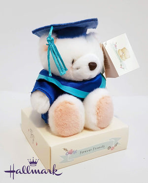 Graduation Teddy - Blue - gift-on-line