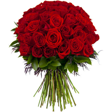 50 Red Roses - Gifts Online