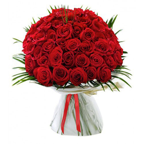 50 Red Roses - Gifts Online - 2