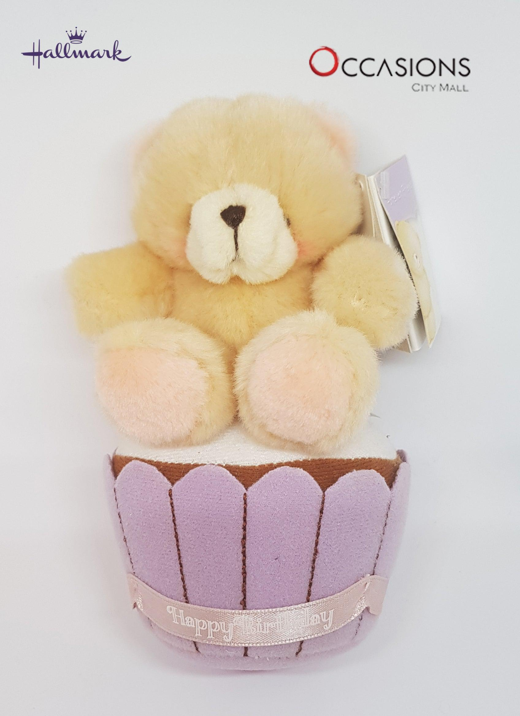 Birthday Cupcake Teddy - gift-on-line