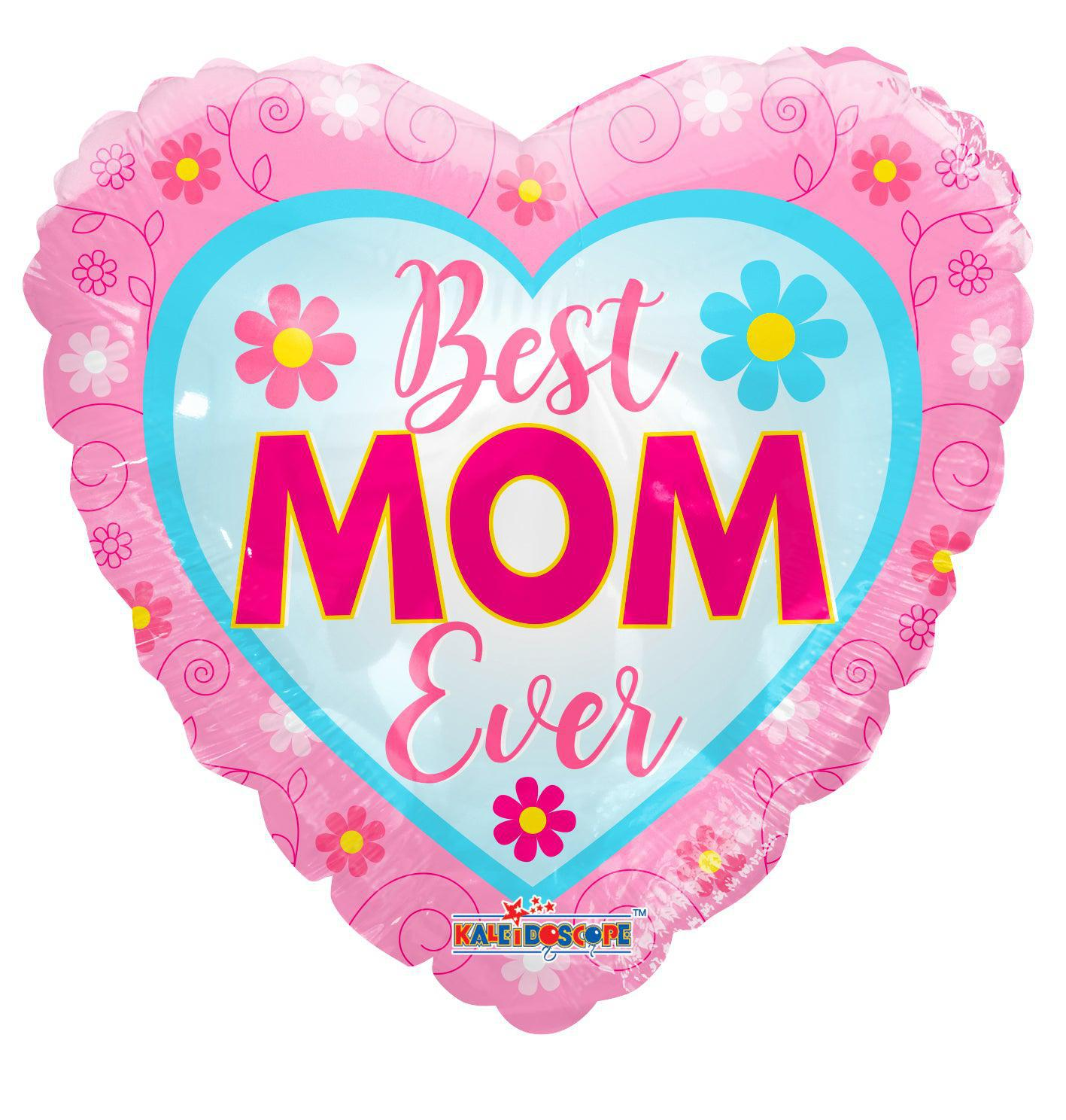 Best Mom Ever Balloon - gift-on-line