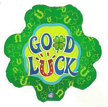 Good Luck Leaf Balloon - gift-on-line