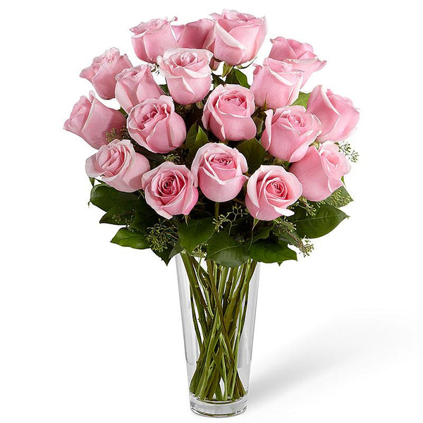 20 Pink Roses - Gifts Online