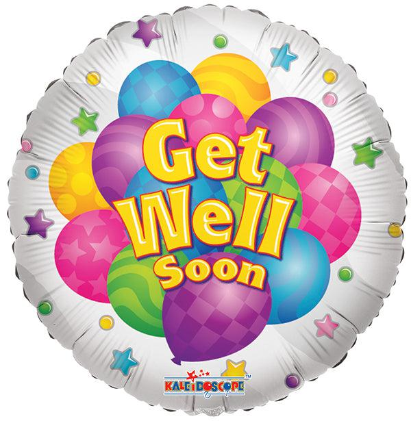 Get Well Soon Colorful Balloon Balloonssend_delivery_Amman_Jordan