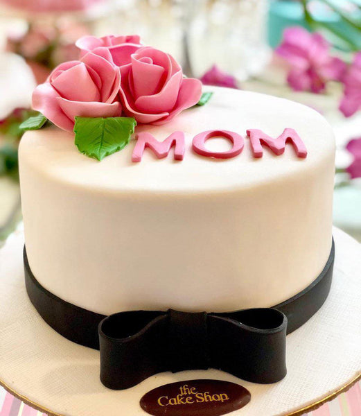Simply elegant Mother's Day Cake