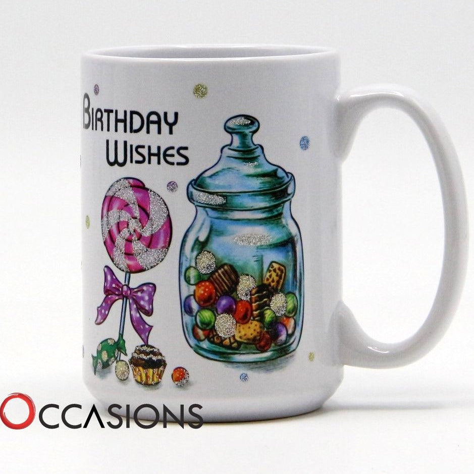 Birthday Wishes Mug - gift-on-line