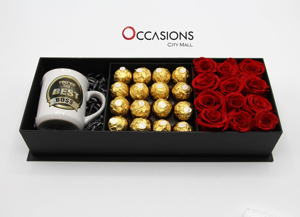 Best Boss Special Package Flowerssend_delivery_Amman_Jordan